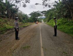 Deteksi Daerah Rawan Laka, Sat Lantas Polres Kutim Lakukan Pendataan