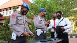 Pemeriksaan Senpi, Propam Polres Kutim Cek Guna Antisipasi Penyalahgunaan