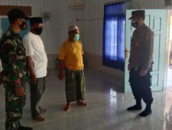 Kapolsek Kongbeng Imbau Jamaah Masjid Taat Protokol Kesehatan