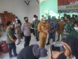 Wakapolres Kutim Hadiri Peresmian Dapur Rakyat Kabupaten Kutai Timur