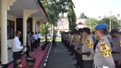 62 Desa Gelar Pemilihan Kepala Desa, Polres Kutim Terjunkan 182 Personil